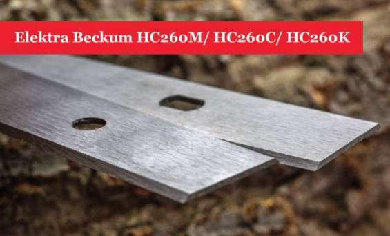 Elektra beckum hc260m/ hc260c/ hc260k planer blades knives - 1 pair
