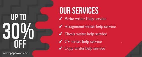 Get 30% off on assignment writing service and assignment help