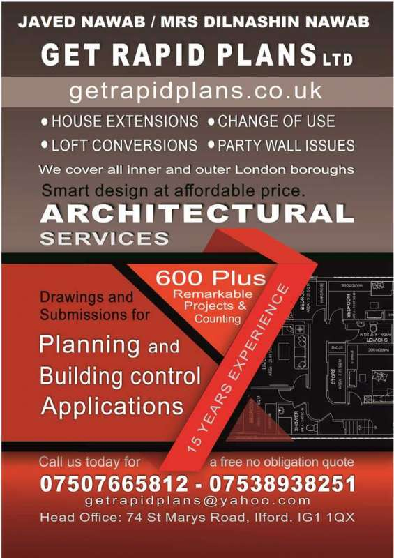Loftconversio| house extension| garage conversion|architectural services