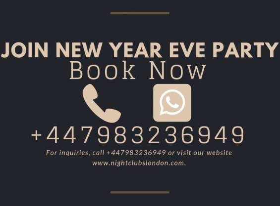 London nightclubs new years 2019 tickets available call mickey +44 7983 236949