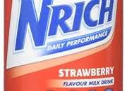 Nrich Nutritionally Balanced Milk Drink Strawberry Flavour 400g