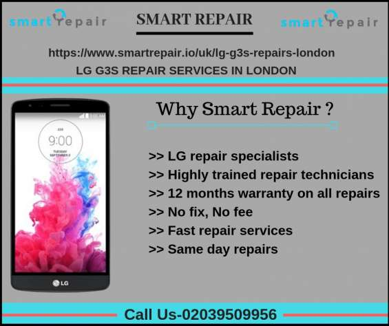 Lg g3s mini repairs services in london