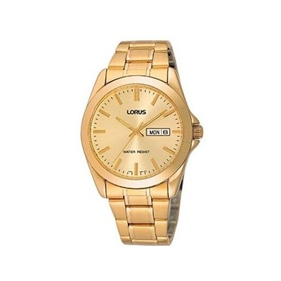 Lorus gents gold bracelet watch rj608ax9