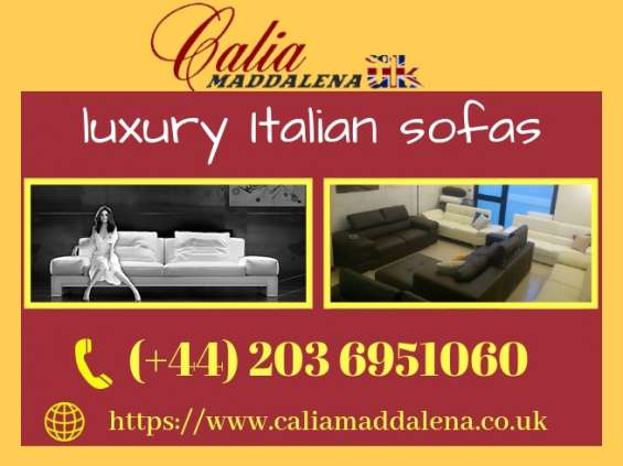 Buy best quality luxury italian sofas with the best price!
