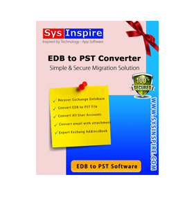 Sysinspire edb to pst converter software