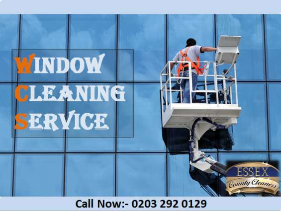 Professional window cleaning essex