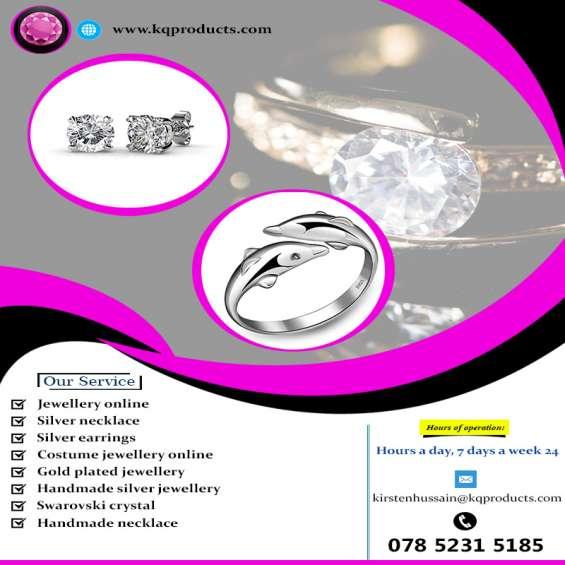 Silver necklace london | k & q products ltd
