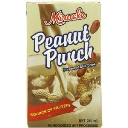 Miracle peanut punch 240ml (pack of 6) | buy energy drinks uk