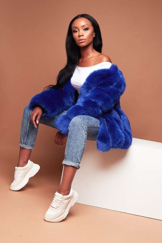 Shop 100% cruelty free faux fur coats