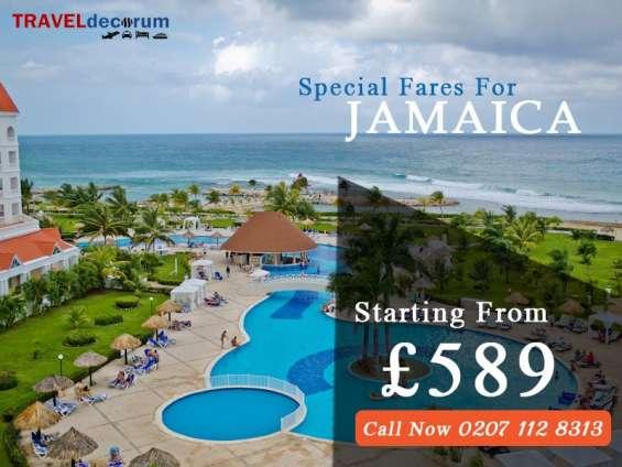 Uk london to kingston jamaica direct flights