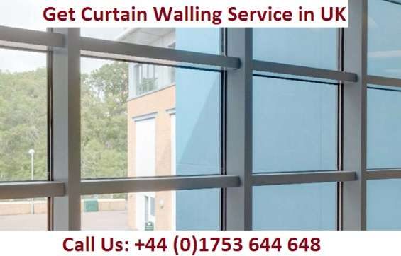 Get curtain walling service in uk