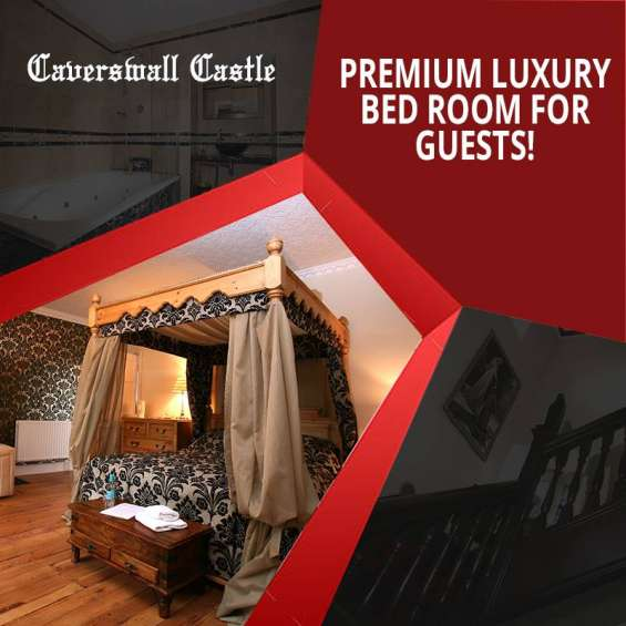 Premium luxury bed room for guests!