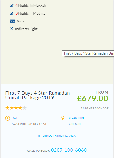 Pictures of Cheap ramadan umrah packages 2019 2