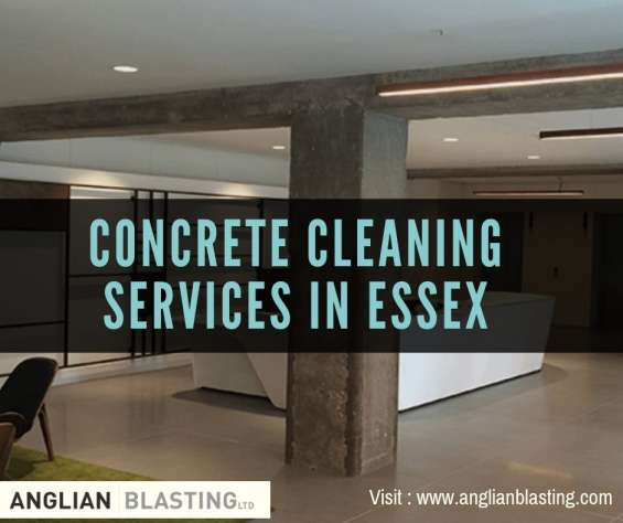 Concrete cleaning services in london & essex
