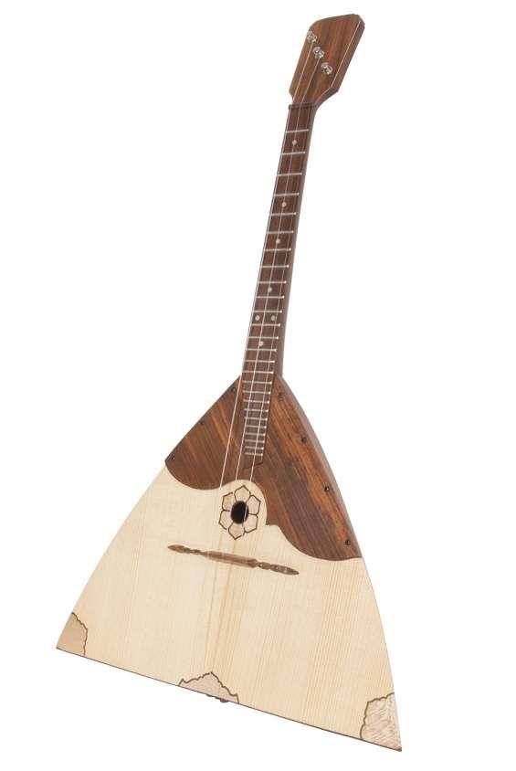 Buy balalaika prima deluxe variegated rosewood and lacewood