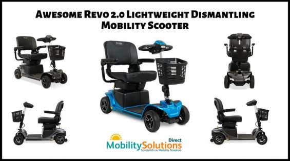 Revo 2.0 lightweight dismantling mobility scooter