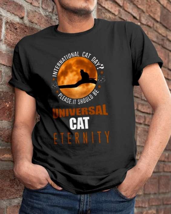 International cat day 2019 t-shirt