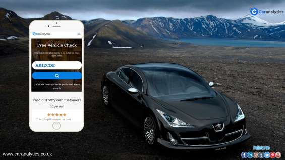 Indulge car check free in the uk for any vehicles with car analytics