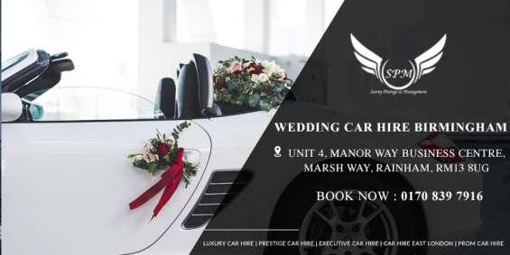 Wedding car hire near me