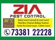 Zia Pest Control Service 788 | Restaurant, Builders & Developers.