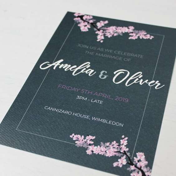 Wedding invitations london
