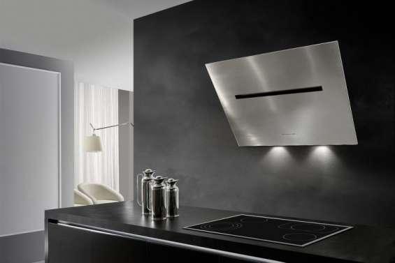 Hamlet stainless steel wall hood | angled wall cooker hood