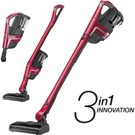 Easy cleaning with combined vacuum cleaner