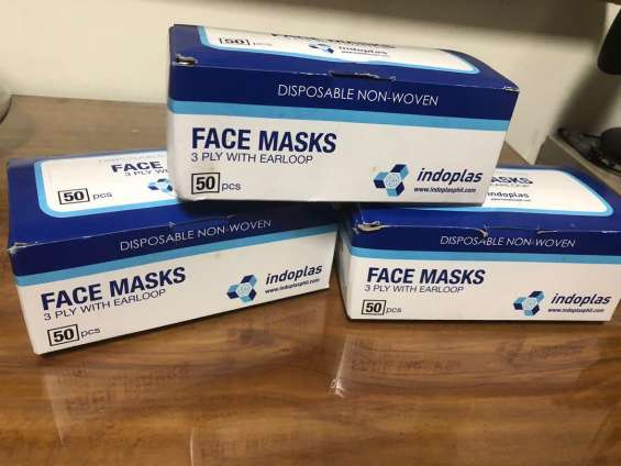One box of surgical mask