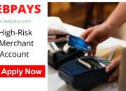 Mark your business with right kind of high-risk merchant account today
