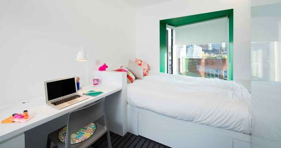 Enjoy perfect quality of student accommodation at scape shoreditch london