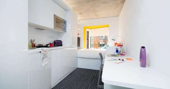 Pictures of Enjoy perfect quality of student accommodation at scape shoreditch london 11
