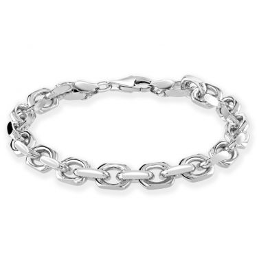 Men's anchor chain bracelet