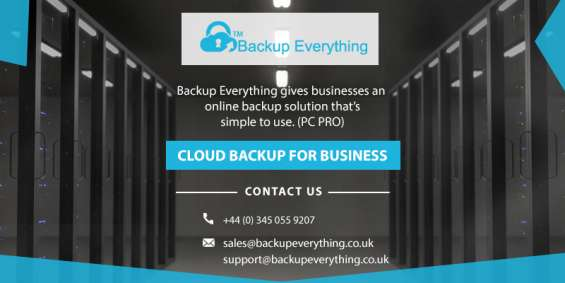 Online backup storage solutions london