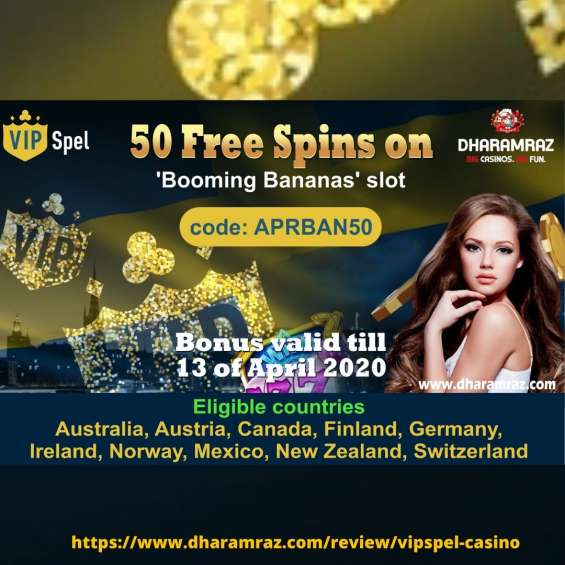 50 free spins casino bonus on dharamraz
