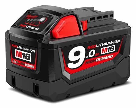 Milwaukee m18b9 cordless drill battery
