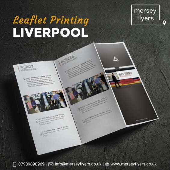 High quality leaflet printing solutions at best price