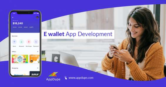 Give wings to your business with e-wallet app development