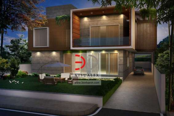 Bungalow elevation design
