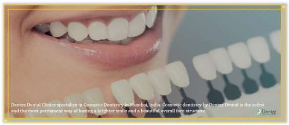 Get straight teeth with a cosmetic dentist in mumbai
