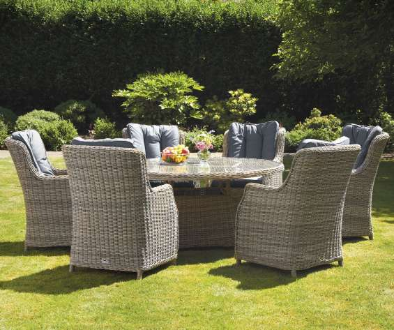 Royalcraft wentworth 4 seater round imperial dining set