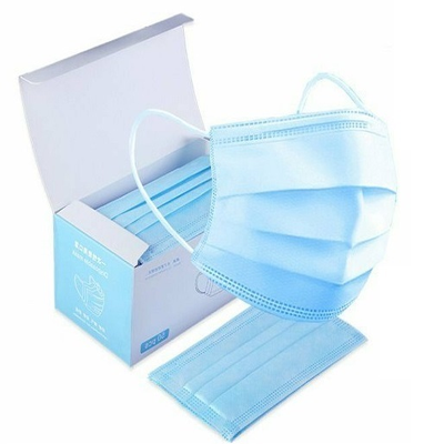 Health star disposable blue face mask
