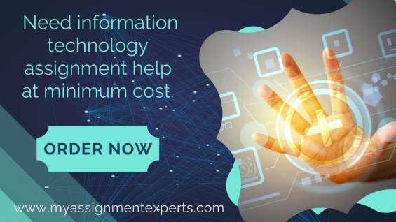 Information technology assignment help by it experts