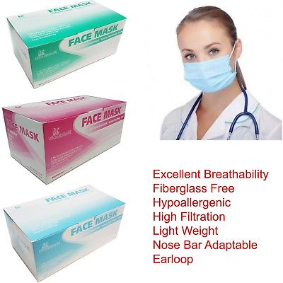 Pictures of Ear loop procedure mask | buy face mask 3 ply online 1