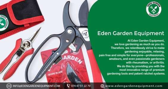 Garden equipment - eden garden equipment