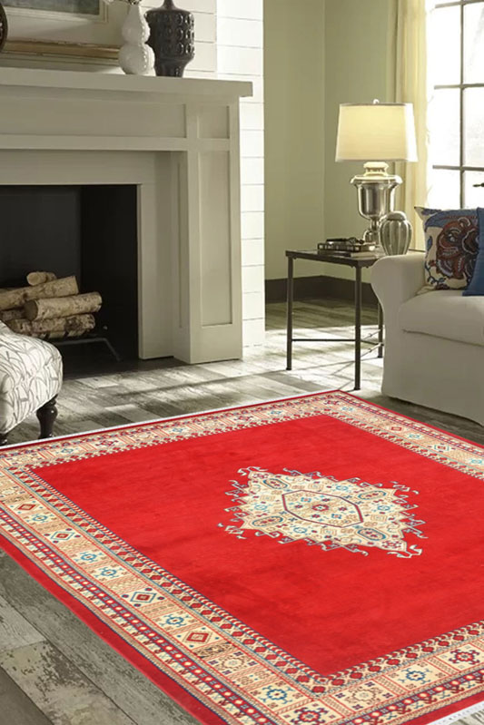 Perfect size zevar kashan wool rug online from rugs and beyond