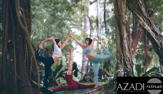 Discover the depths of yoga in an untouched paradise!