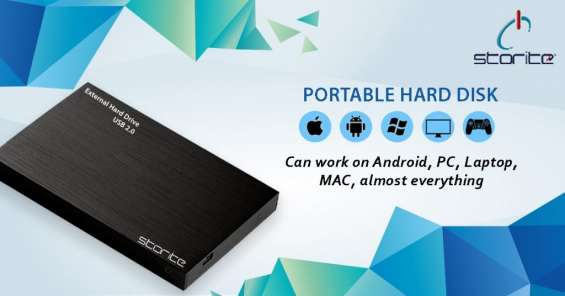 Buy external & portable hard disks online - storite