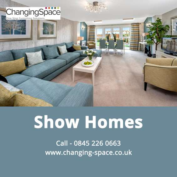 Show homes by changing space