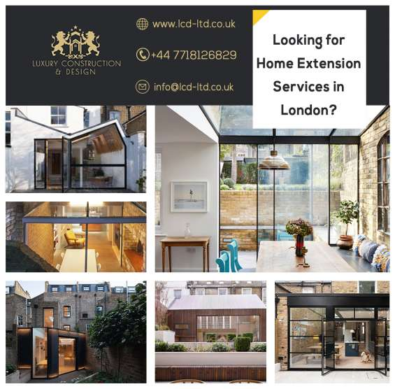 Best luxury home extensions in london