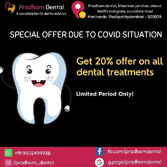 Pradham dental - best dental clinic in manikonda